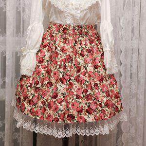Atelier Yan - Garden Rose Skirt - Yellow